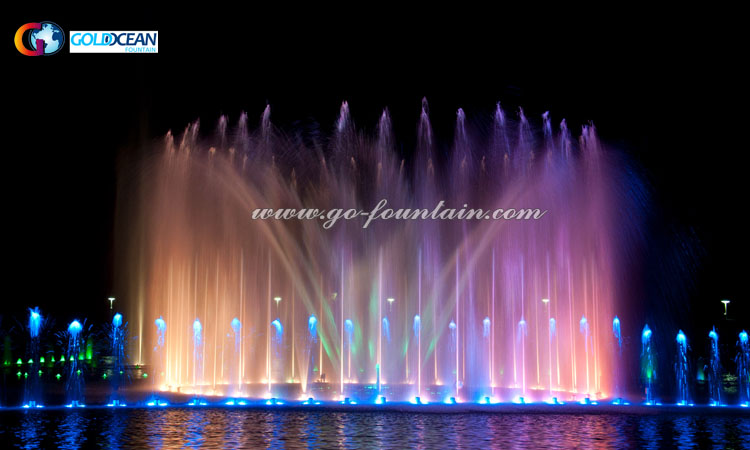घर उद्यान सजावट सुंदर इनडोर नृत्य पानी के फव्वारे, कस्टम कार्यक्रम नियंत्रण फाउंटेन