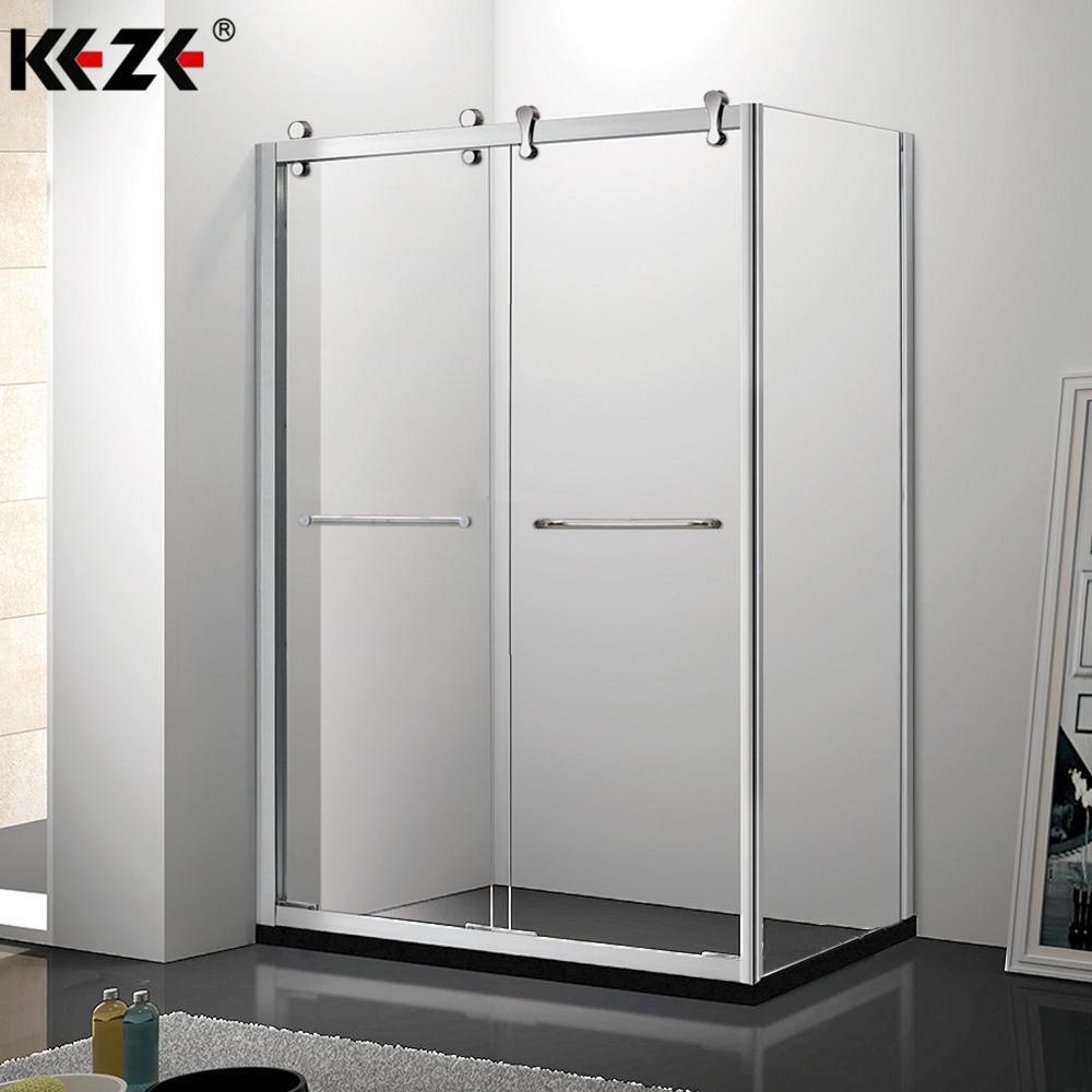 Foshan Bathroom Tub Black Framed Lowes Big Roller Glass Shower Cabin Sliding Door Ss304 With Shower Room Fittings Hardware Buy Shower Cabin Sliding