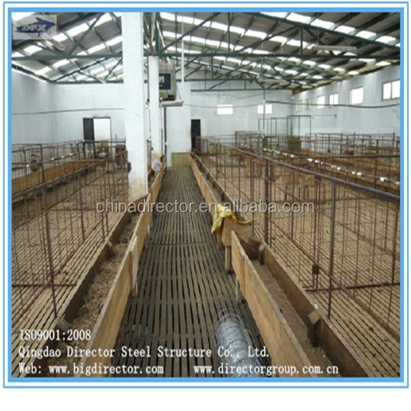 China Supplier Dfx Poultry Prefabricated Steel Structure Goat Farm ...