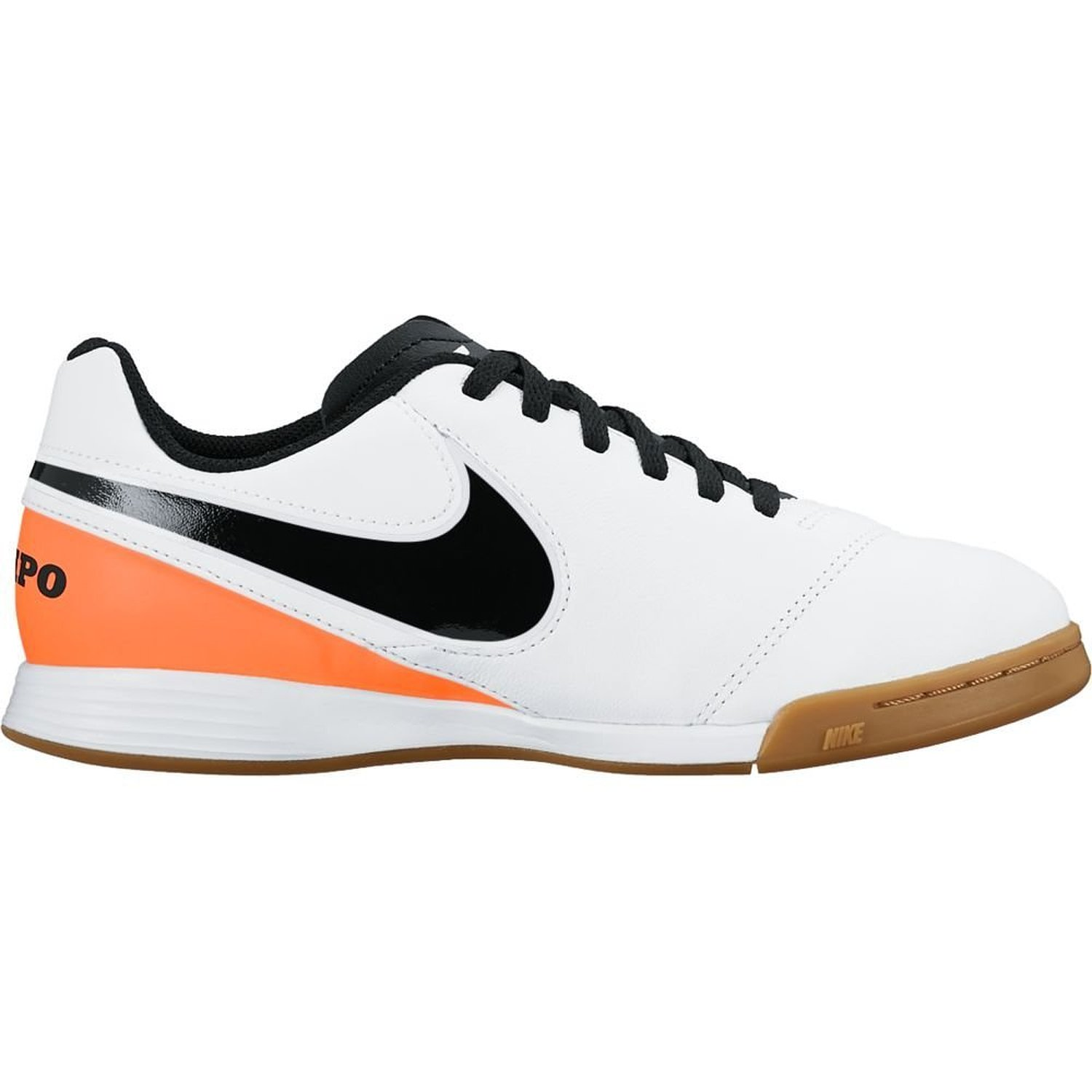 62deca49567 Get Quotations · Nike Youth Tiempo Legend VI Indoor Shoes  White  (2.5Y)