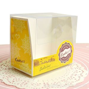 Hot sale custom paper cake packaging gift box wholesale with client's logo