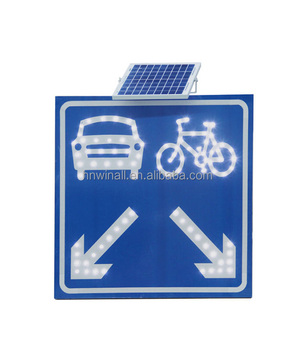 Road Safety Signs With Led Lights