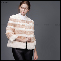 wholesale plain mink faux fur coat cheap women coats winter 2016 keep warm