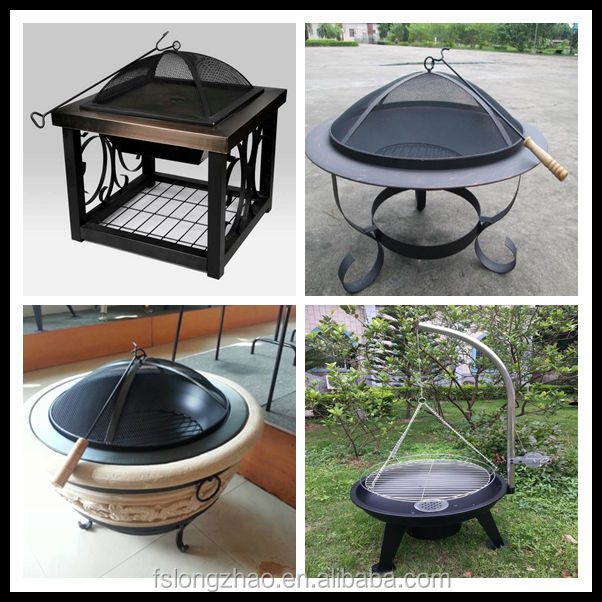 "26"" Cast Iron Fire Pit/Fire pan,BBQ barbecue oven"