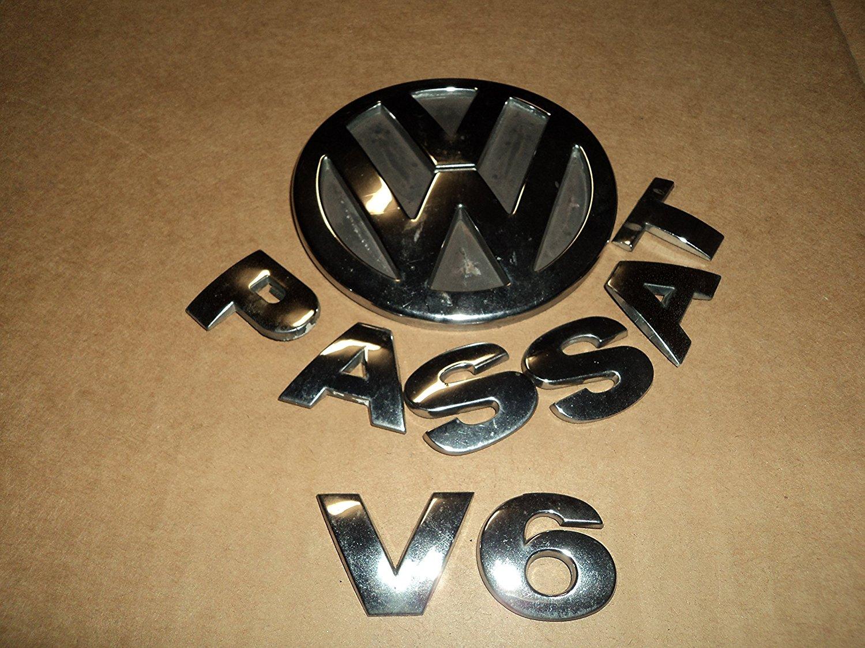 from 2001 to 2005 V6 VW Passat OEM VW Trunk Rear Badge Emblem Logo 1.8T TDI