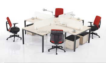 4 seats workstationoffice partitionfurnituremodular workstationoffice furniture hardware buy modular workstation furniture