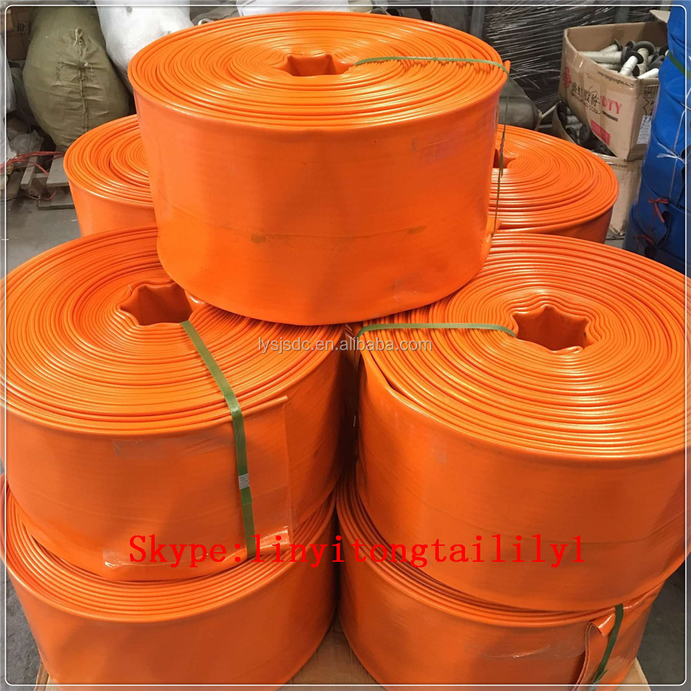 waste water lay flat hose,10 inch pvc lay flat hose,6 inch pvc irrigation lay flat hose