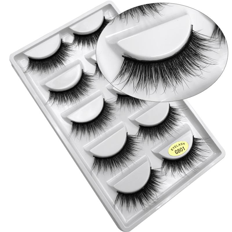 Beauty & Health Mink Eyelashes Natural 3d Mink Lashes Fake Eyelashes Ups Free Shipping 1000pair Full Strip Lashes Cilios Eye Lashes China Vendor Street Price False Eyelashes