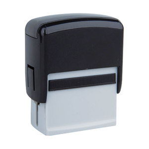 China factory super quality rubber material 40x75MM self-inking office stamp