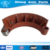 Top quality motorcycle brake shoe heavy duty truck brake shoe