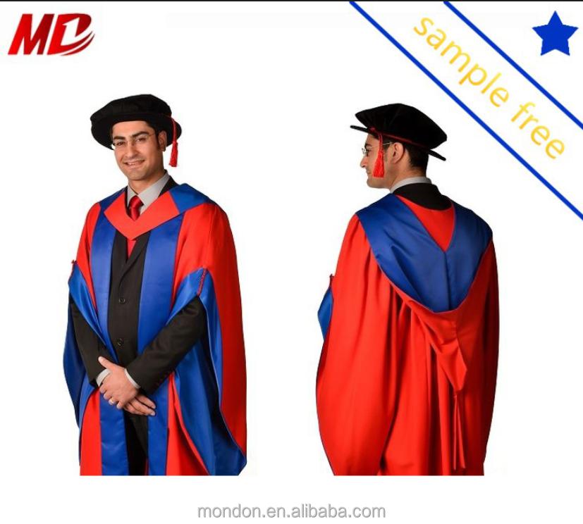 Custom-tailored Uk Phd Doctoral Graduation Gown - Buy Uk Phd ...