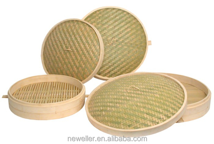 Round bamboo steamer for fashionable lifestyle With high quality