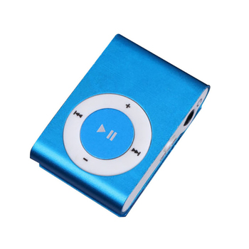 Multi Colors Mirror Portable Metal Clip Sport MP3 Music Player with Memory Card