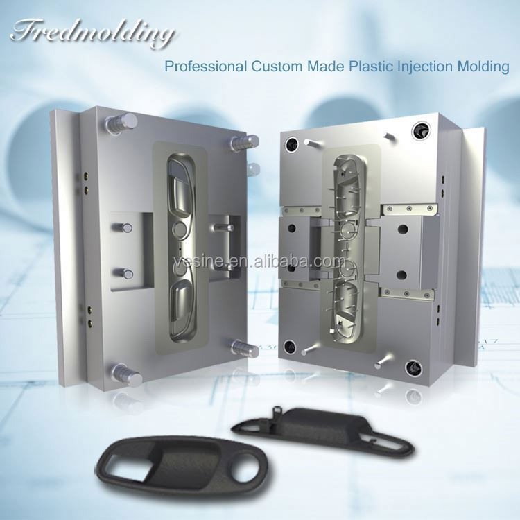 plastic injection mould MISUMI standard hardened stepped ejector sleeve Plastic Injection Case Moulding Mold
