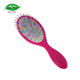 Everyday Use Ball tipped Nylon Pins Cushion Massage Hair Aqua Brush for Thick Hair