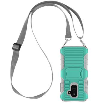 Necklace Case For Samsung A6 Plus With Lanyard Cross Body Shoulder Belt Case For Samsung Galaxy A6 Plus 2018