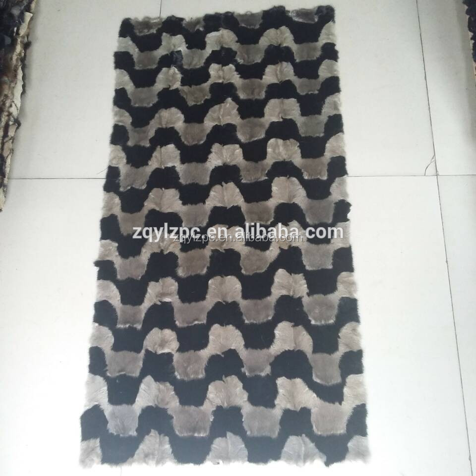 High Quality Natural Mink Fur Plate