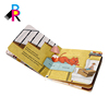 High end educational colorful art paper cardboard baby books