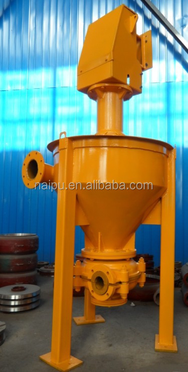 China Factory  Vertical Froth Pump for   copper ore dressing plant