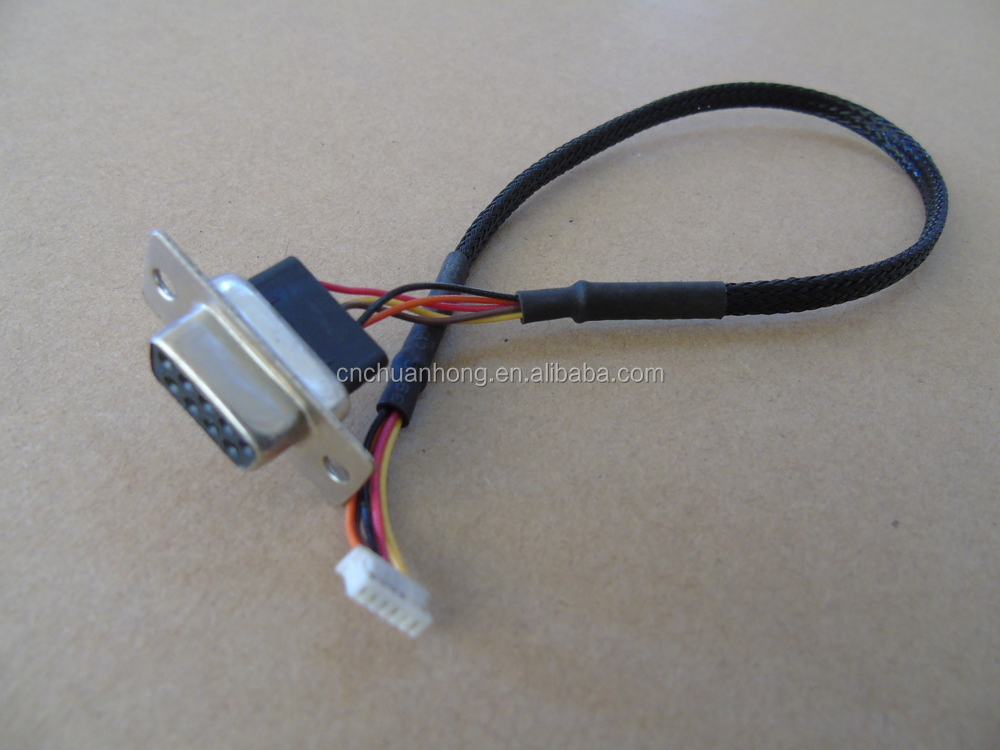 whole on board equipment wiring harness db9 and 1 25 connector on board equipment wiring harness db9 and 1 25 connector wire