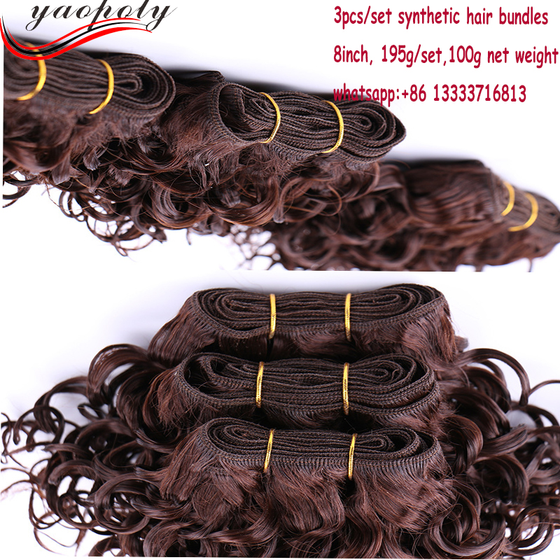 Wholesale Cheap Price Hair Weft Synthetic Heat Resistant Fiber Hair Accessories Fashional Hair Weave Top Quality