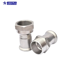 Galvanized Steel Quick Super Duplex DIN both end thread nipple