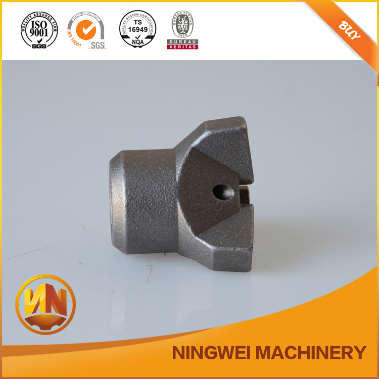 stainless steel machining cartridge custom casting part