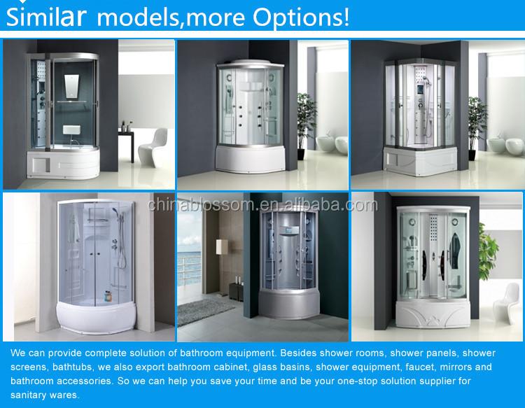Cabine Doccia Complete : Nuovo design di vetro grigio bagno con doccia cabine buy vasca