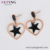 E-822 XUPING New stainless steel large star earring women, 14k gold jewelry wholesale