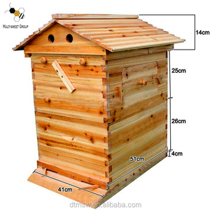Multi-sweet best selling honey flow hive with 7 frames