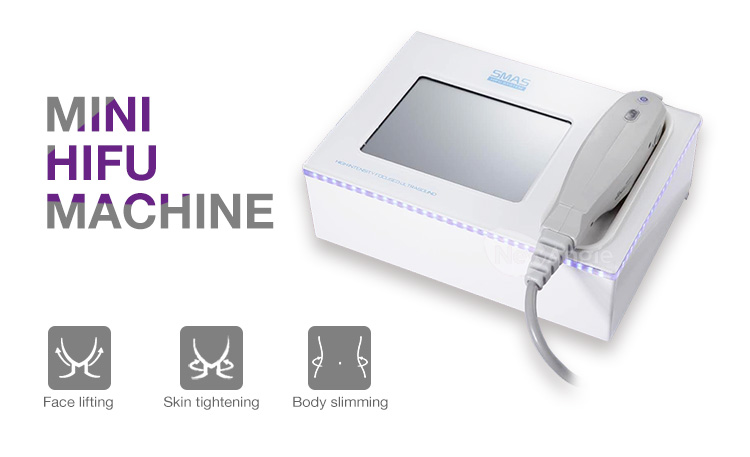Korea cheap price ultrasound portable anti-wrinkle mini hifu for home use