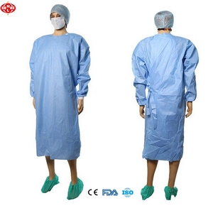 Dental disposable gown Factory Medical Supplies Disposable Protective Sterile Surgical Gown