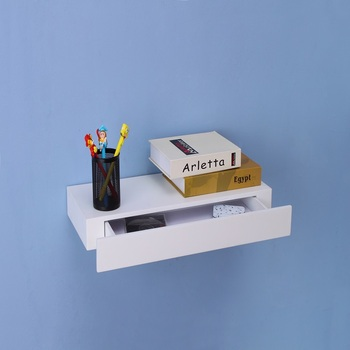 Wall Mounted Drawer Shelf With Floating Wood Product On Alibaba