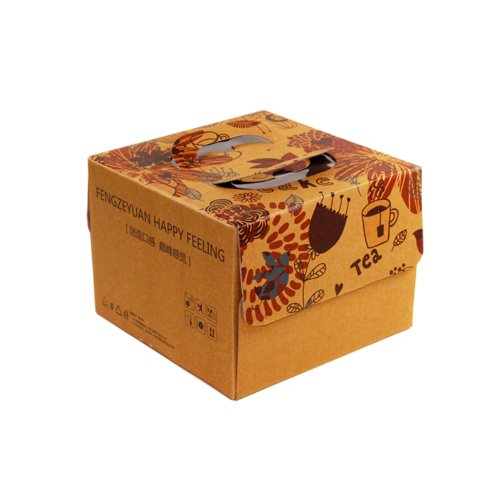 Kraft Paper Cardboard Birthday Cake Packaging Box Buy Birthday