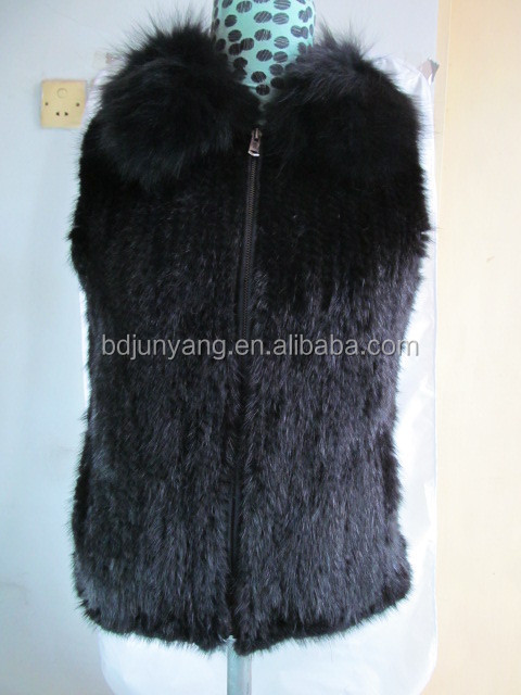 luxurious natural mink fur vest mink fur coats women fur vest and shawl