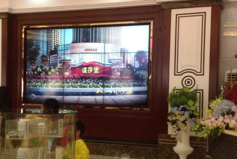 55 Inch Security Cctv Xxx Video Wall For Live Broadcast In Tv