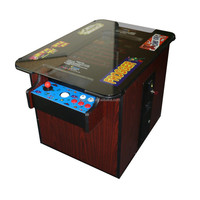 NEW Commercial Quality Black Arcade Cocktail Table Multicade 60 GAMES IN ONE With Trackball