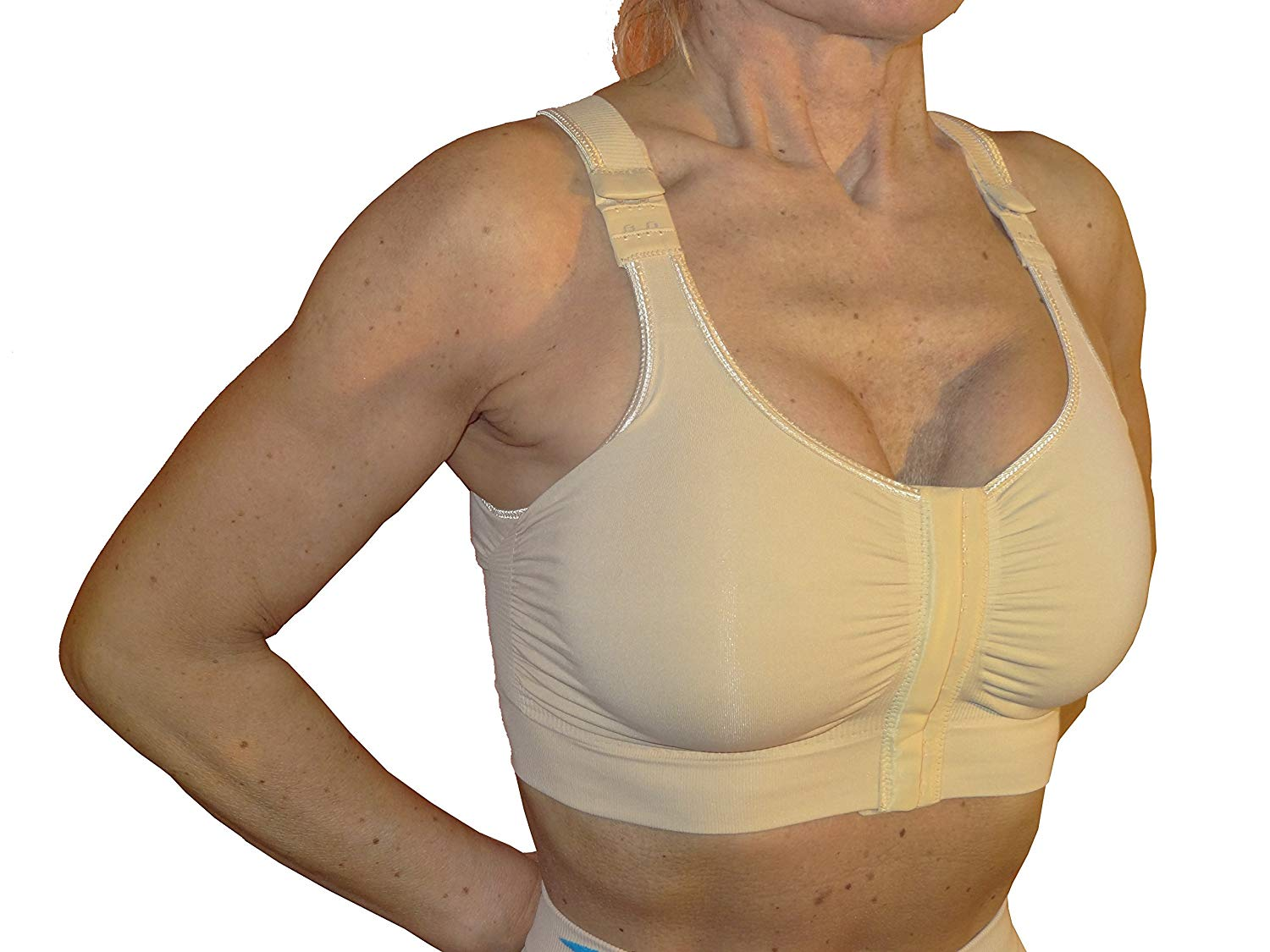 Post-op Bra After Breast Enlargement Or Reduction - Nude Size 3XL