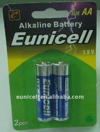 AA LR6 AM3 1.5v Alkaline Zn-Mn Dry Battery for toys remote control products