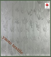 2015 Bamboo Design Silver Window Curtain