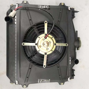 kinroad renli Kangdi radiator with fan 150cc/250cc/650cc/800cc/1100cc go  kart spare parts/buggy parts for sales