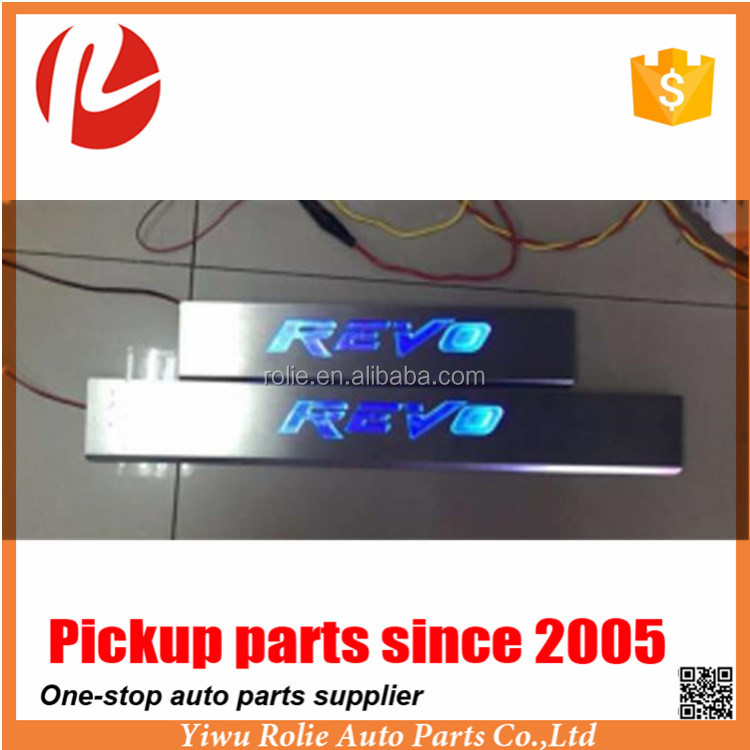 Use for Toyota Hilux Revo 2015 Pickup Accessories High Quality Door Sill Plate