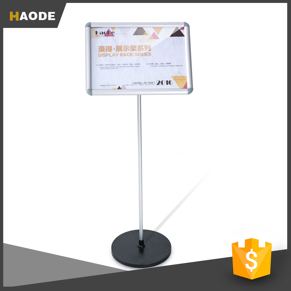 Cheap Picture Frame Display Stand Poster Display Rack Stand for Display