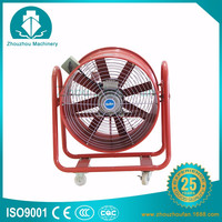 movable industrial blower fan ventilator