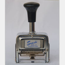 Office 6 7 8 10 12 digital serial auto hot stamper for drums