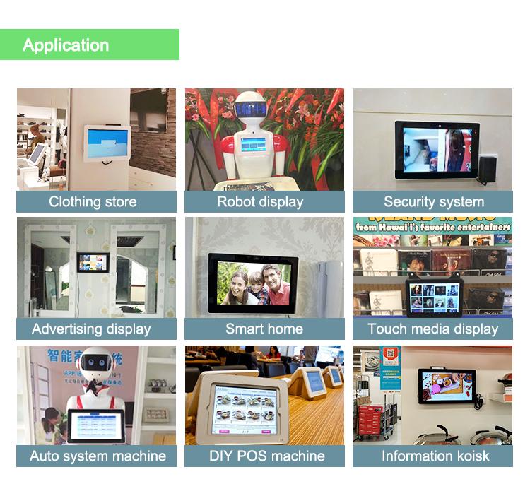 Çin popüler 15.6 android tablet ile 4G için led duvar ekranı