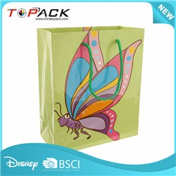 Best selling simple design fashion custom paper bag