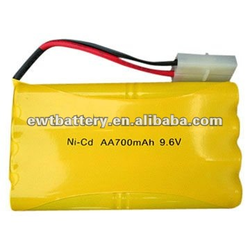 NI-CD 9.6V AA700 BATTERY PACK