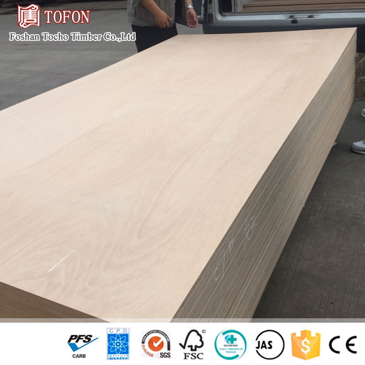 China Factory Uniform Thickness 5'X8' Plywood For Sale