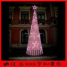 tree Outdoor attractive 3D acrylic led light holiday acrylic led holiday light CE ROHS GS